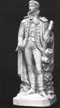 Izsó Miklós - Csokonai szobor