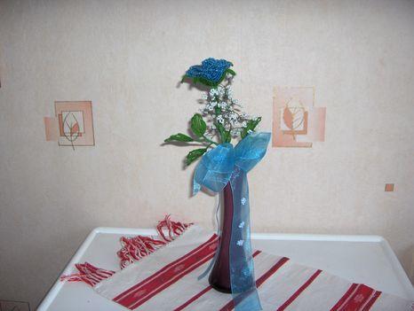 Bogi rózsája kék