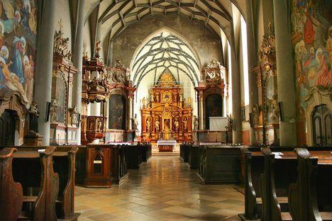 Ferences templom belseje