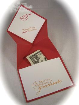 Ballagási pénzátadó kártya