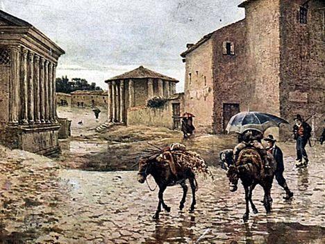 Ettore Roesler Franz ed i suoi dipinti su Roma2