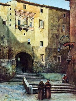 Ettore Roesler Franz ed i suoi dipinti su Roma