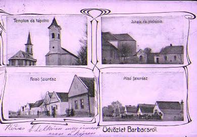 Barbacsi képeslap