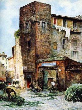 Ettore Roesler Franz ed i suoi dipinti su Roma3