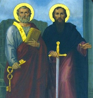 Június 29: Szent Péter és Pál apostol Főünnep
