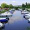 Fertő tó,kishajó kikötő