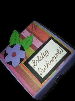 Szülinapi ékszeres dobozka