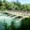Kisbodak, a Szent Kristóf híd alvízi oldala 2014. július 07.-én