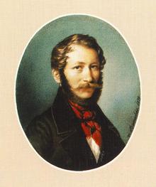 Barabás Miklós: Önarckép, 1839