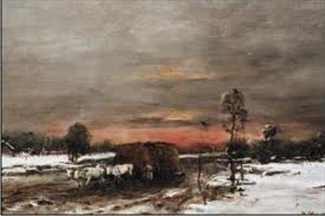 Munkácsy Mihály - Téli út