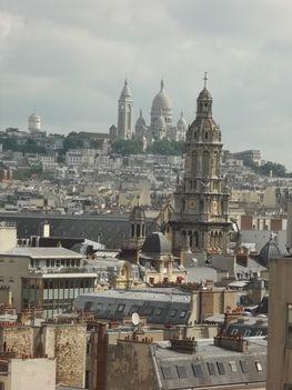 Párizsi háztetők
