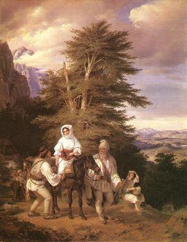 Vásárra induló román család