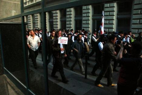 tüntetés a választásokért