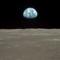 A Föld látképe a Holdról
