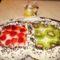 Gyümölcs torta ikreknek