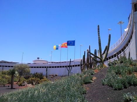 Lanzarote-Repülőtér épülete