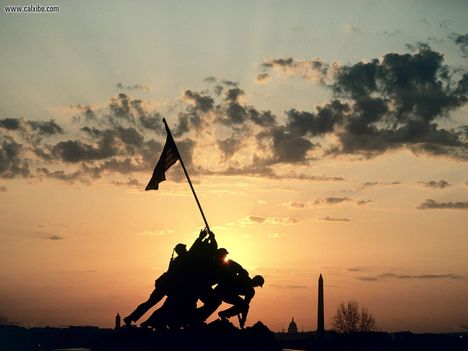 Miscellaneous: U.S.M.C. Memorial Arlington Virginia
