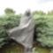 Radnóti Miklós szobra Abda közelében - Melocco Miklós szobrászművész alkotása