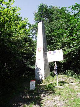Nagy-Milic 895 m. obeliszk