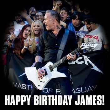Happy Birthday James!