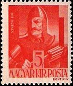 Postabélyeg - Kinizsi Pál