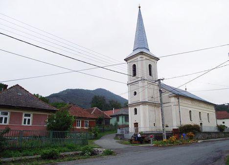 Pusztafalu  Református templom