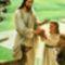 Jézus a_gyerekeket nagyon szereti