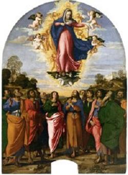 Augusztus 15: Szűz Mária mennybevétele-Nagyboldogasszony
