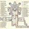 Vatikáni Grották térkép