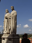 VESZPRÉM I. István király és Gizella királyné szobra