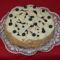 Áfonyás málnás mascarponés torta