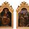 Az egerszalóki hordozó Mária-kép két oldala