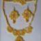 Ékszer szett sárgában(frivolitás)