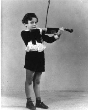 Lorin Maazel hegedűs debutálása