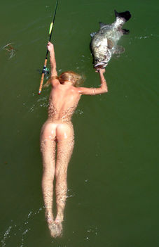 Sporthorgász nudi baba hal-2364