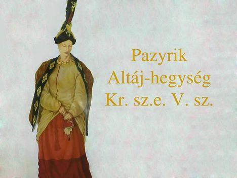 Szkíta-hun aranyleletek oroszországi kurgánokban 26