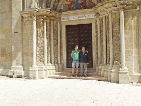 A felújított templom Lébényben-10