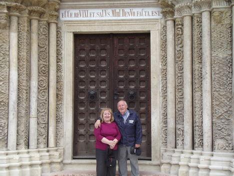 A felújított templom Lébényben-14