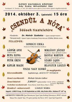 Őszi műsor Újpesten