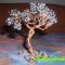 Fekete fehér bonsai