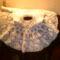 Keresztelő ruha szoknyája