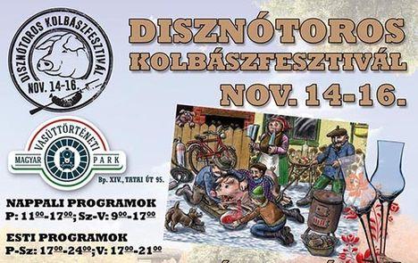 Disznótoros kolbászfesztivál 2014