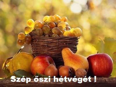 Őszi hétvégére...