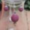 gyöngybogyó lila szett2