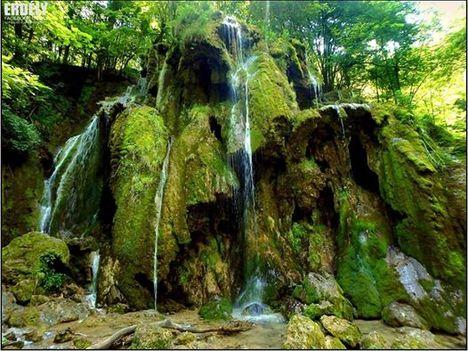 Beusnita vízesés-Néra völgye