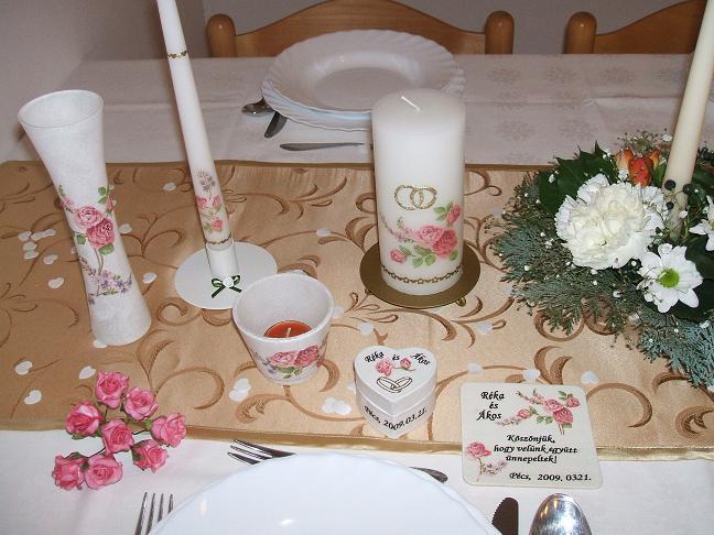bd0ea41105 Esküvő: Esküvői asztaldekoráció 2 (kép)