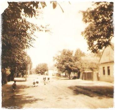 A Szeder utca régen