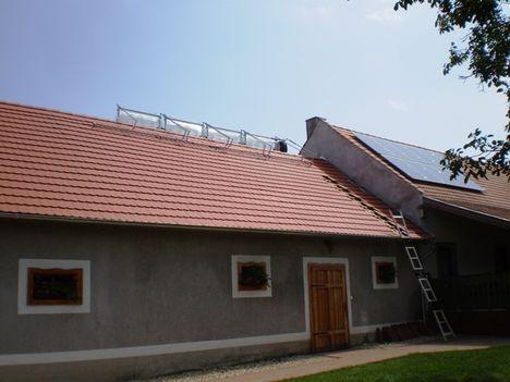 Bakonyi közösségi ház hibrid rendszer