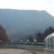 Útben Marazell-be magas hegyek orma mellett