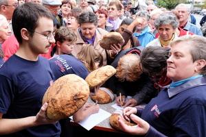 A kenyér világnapja Sepsiszentgyörgyön